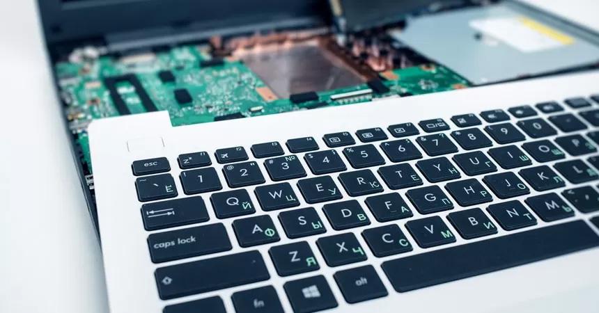 troca de teclado macbook